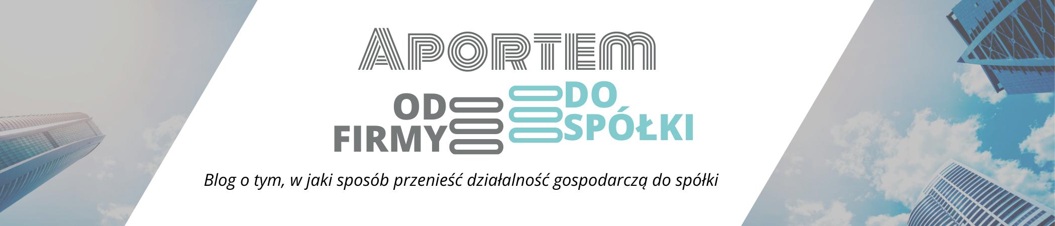 Aport przedsiębiorstwa